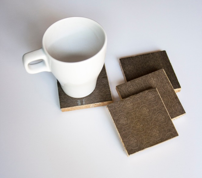 Manly Brown Coasters